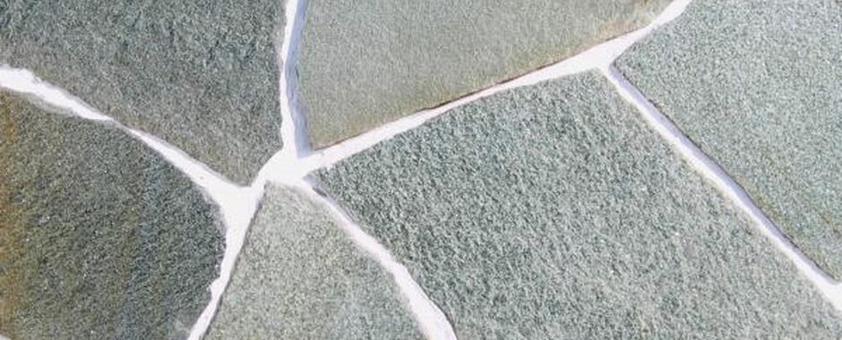 Зеленый плитняк изУральского златолита (микрокварцита)